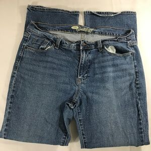 🆕 Old Navy Sweetheart Denim Jeans Size 14 Short